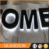 3D Letra Retroiluminada de Acero Inoxidable del Espejo