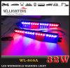 LEDの警告のストロボの分割されたバイザーのライトバー