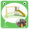 Oscillation et glissière joyeuses d'enfants pour le parc (LJ-102100E)