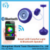 Luz esperta do diodo emissor de luz de Apps do telefone de Bluetooth com altofalante RGB