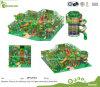 Tema comercial padrão Spielplatz interno mais amável Ausrustung da selva da UE