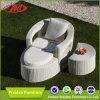 藤のソファーの寝台兼用の長椅子(DH-3111)