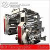 Machine d'impression flexographique de feuille de plastique de 4 couleurs (commande par courroie)