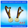 Il marchio ovale di figura scava fuori la medaglia all'ingrosso di sport del metallo