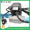 Vávula de bola eléctrica actuada del acero inoxidable Dn20 con la válvula motorizada enchufe