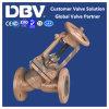 Válvula de globo assentada borracha de Wcb PTFE da carcaça com aprovaçã0 do Ce