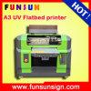 Impressora UV de Funsun A3 das cores da alta velocidade 8 com cabeça de 1440dpi Dx5 para a impressão de madeira de vidro do couro da caneca da caixa móvel da camisa de T