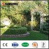 Hierba artificial usada china para el jardín