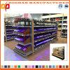 新しいカスタマイズされたスーパーマーケットの木の小売店のワインの棚(Zhs174)