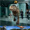 Traje adulto realista del dinosaurio que camina