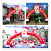 Santa gonfiabile Arch per Christmas