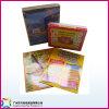 Tarjeta de papel del juego de los juguetes educativos coloridos para los cabritos (xc-9-004)