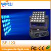 DMX512 25PCS 12W RGBW DEL Moving Head Lights