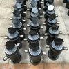 Cilindro hidráulico de la carrocería inferior telescópica gradual para el carro de vaciado