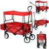 Carro plegable del carro de jardín con el pabellón