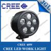 지프 4WD Offroads 배 9-32V를 위한 새로운 디자인 60W 크리 사람 LED 모는 빛 IP67 LED 일 램프 백색 반점 또는 플러드 일 빛 기관자전차 트랙터 트럭 트레일러 SUV
