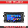 Bluetooth A9 CPU 1g RAM 8g Inland Capatitive Touch Screen (AD-9457)を搭載するフォードMondeoのための純粋なAndroid 4.4 Car GPS Player