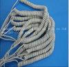 Cable del espiral de la chaqueta del OEM TPU para el equipamiento médico
