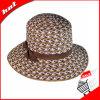 Chapéu de palha. Chapéu de Sun. Chapéu da mulher
