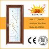 経済的な振動アルミニウム部屋の洗面所のドア(SC-AAD050)
