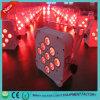9ledsx18W Rgbawuv 6colors Wireless DMX Bars Light/Party Lights/LED Flat PAR