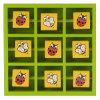 Игра пальца ноги Tic Tac сальто деревянного Игрушк-Павильона деревянная - сад (JY0855)