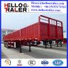 中国は3つの車軸に80トンのサイドウォールのトレーラーを半した