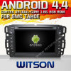 Witson Android 4.4 Car DVD para Gmc Tahoe com A9 o Internet DVR Support da ROM WiFi 3G do chipset 1080P 8g
