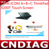 para BMW Icom a+B+C Thinkpad X200t Touch Screen con Latest 2014.06 Software