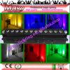 Het Professionele Stadium Lights/12ledsx18W Rgbawuv 6 van Guangzhou het Huwelijk van Kleuren op de LEIDENE LEIDENE van Lighting/Indoor Lichten van de Muur Washer/Party