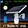 Éclairage solaire de jardin de batterie au lithium IP65 avec le lumen élevé