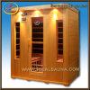 4-persoon de Infrarode Cabine van de Sauna Room/Sauna van de Stoom Detox