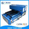 Guangzhou corrugou a máquina cortada laser da caixa