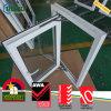 Rehauエネルギー効率が良いUPVCの低いEガラス開き窓Windows