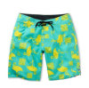 Shorts completi di nuotata dell'Hawai del fiore di sublimazione della scheda su ordinazione della stampa