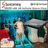 2015 3D populaires DEL Dance Floor pour le restaurant, café