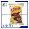 Il gas ha riempito il sacchetto di plastica stampato personalizzato di imballaggio per alimenti delle patatine fritte