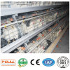 Гальванизированная цыплятина слоя батареи поднимая клетки