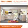 De populaire Moderne Keukenkast van de Melamine van het Ontwerp