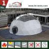 백색 색깔 PVC 덮개를 가진 10m 경간 돔 천막 및 사건을%s Hot-DIP 직류 전기를 통한 강철 프레임