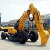 China hizo el excavador XCMG Xe150W el excavador de la rueda de 15 toneladas