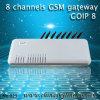 Entrada GoIP-8 de GoIP G/M de 8 puertos