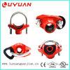 T mecânico Grooved do ferro Ductile da alta qualidade (FM/UL) 139.7*76.1