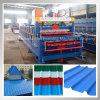 Maquinaria revestida da fabricação da folha do telhado da cor