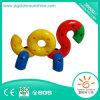 Jogo plástico do enigma das crianças, brinquedo inteletual do tijolo do edifício com certificado de CE/ISO