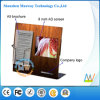 Acryl Book Display Stands met 8 Inch LCD Screen (mw-0802CSP)