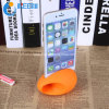 Hot Sale Silicone Speaker with Cell Phone Holder