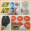 Die corte personalizado logotipo etiqueta engomada adhesiva impermeable