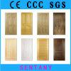 Puerta moldeada puerta chapeada puerta de madera sólida