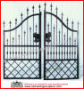 Porta do metal da porta do ferro feito (SK-5633)